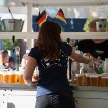 Bei den hohen Temperaturen im Sommer ist es wichtig, viel zu trinken. Wir sorgen immer für ausreichend Nachschub und haben natürlich nicht nur Bier...