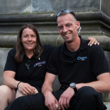 Jill und Florian Wildmann sind als Organisatoren-Paar nicht nur ein eingespieltes Team, sondern behalten immer den Überblick und einen kühlen Kopf.